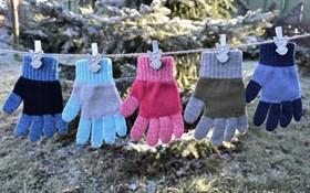 margot перчатки LUKAS  одинарная вязка (размер 14)