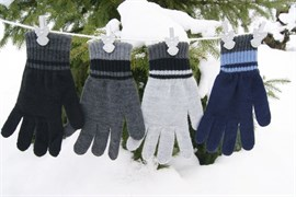 margot перчатки KYDROS одинарная вязка (размер 17)