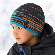 .AJS шапка 36-409 шапка подкл.флис (р.52-54)
