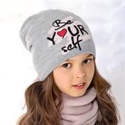.AJS шапка 36-397 подкл.флис (р.52-54)