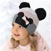 .AJS шапка 36-362 двойная вязка (р.48-50)