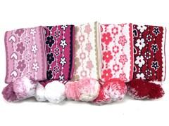 шарф модель 1227 для девочки (130х14)