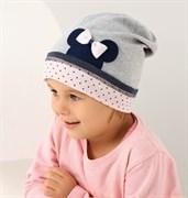 .AJS шапка 38-067 одинарн.трикотаж (р.52-54)