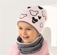 .AJS шапка 38-035 одинарн.трикотаж (р.48-50)