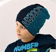.AJS шапка 38-142 одинарн.вязка (р.52-54)