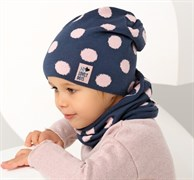 .AJS комплект 38-073 шапка одинарная + снуд (р.52-54)