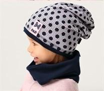 .AJS шапка 38-057 одинарн.трикотаж (р.48-50)