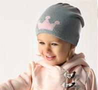 .AJS шапка 38-020 одинарн.вязка (р.48-50)