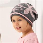 .AJS шапка 38-053 одинарн.вязка (р.54-56)