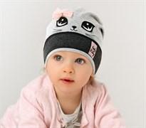 .AJS шапка 38-018 одинарн.трикотаж (р.48-50)