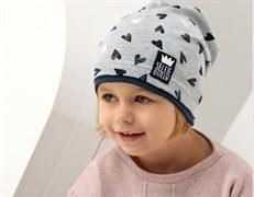 .AJS шапка 38-061 одинарн.трикотаж (р.48-50)