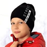 .AJS шапка 36-483 шапка подкл.флис (р.54-56)