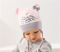 .AJS шапка 38-022 одинарн.трикотаж (р.48-50)