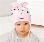 .AJS шапка 38-026 одинарн.трикотаж (р.48-50)
