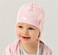 .AJS шапка 38-007 двойн.трикотаж (р.44-46)