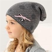 .AJS шапка 38-100 одинарн.вязка (р.52-54)