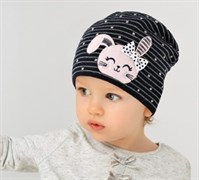 .AJS шапка 38-024 одинарн.вязка (р.46-48)