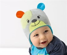 .AJS шапка 38-015 вязка, подкл.хлопок (р.40-42)