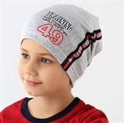 .AJS шапка 38-165 один.трикотаж (р.48-50)