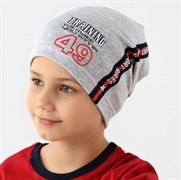 .AJS шапка 38-165 один.трикотаж (р.52-54)