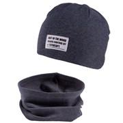 TuTu модель 3-004662 шапка один.трикотаж + снуд (р.54-58)