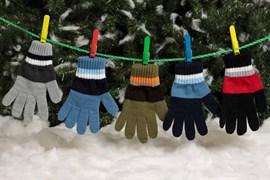 margot перчатки BEN одинарная вязка (размер 15)