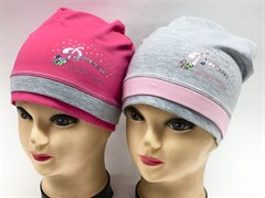 MARIKA шапка MWJ-0516 одинарн.трикотаж (р.48-52)