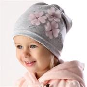 .AJS шапка 36-021 один.трикотаж (р.48-50)