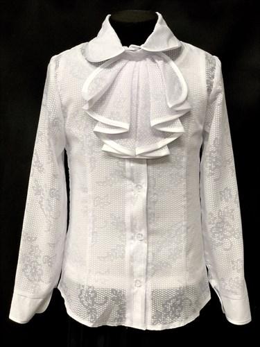 блузка ЛЮТИК модель 20153 длин рукав с маечкой (рост128,134,140,146,152) - фото 10221