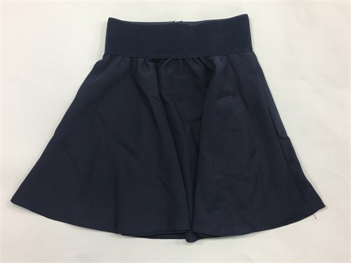 юбка ТехноТкань модель солнце синий (р.32-40) - фото 10489