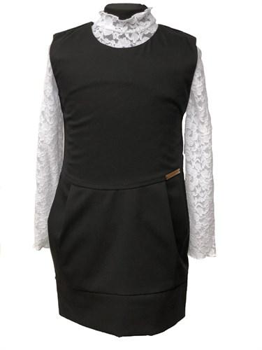 сарафан Fashion, чёрный (р.32,34,36,38.42) - фото 10663