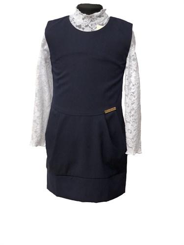 сарафан Fashion, синий (р.32,34,34,36,40,42) - фото 10665