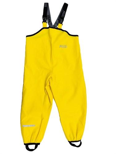 .Milli непромокаемый полукомбинезон Антигрязь, желтый - фото 11360