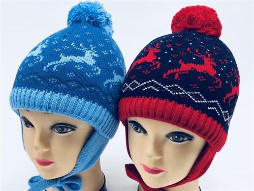 Прикиндер шапка U3-1393 шапка с утеплителем (р.48-50) - фото 11445