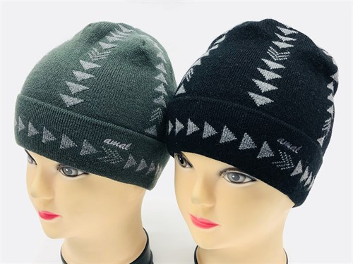 amal шапка одинарная вязка (стрелки)(р.50-52) - фото 11674