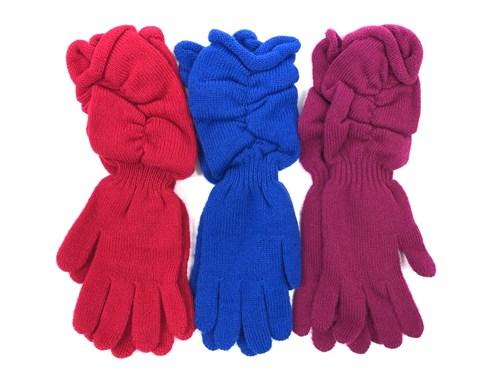 margot перчатки PAJAMA одинарная вязка (размер 18) - фото 11708
