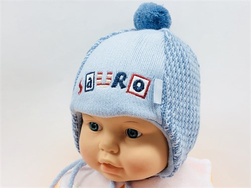 Barbaras модель ODI-DINO шапка вязаная, подклад флис (р.38-40) - фото 11771