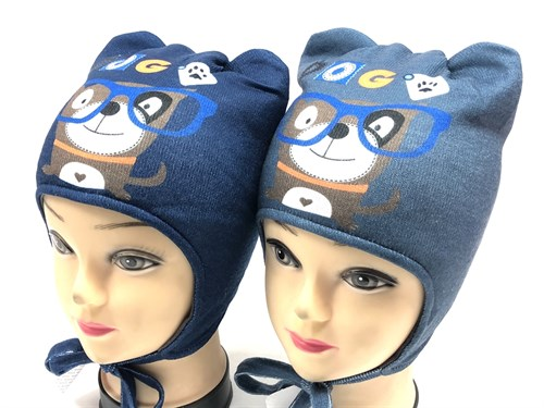 ambra шапка с утеплителем подклад хлопок (р.48-50) - фото 12233