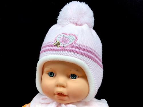 Magrof комплект KOD-836 шапка подкл.флис+шарф (р.38-42) - фото 12343