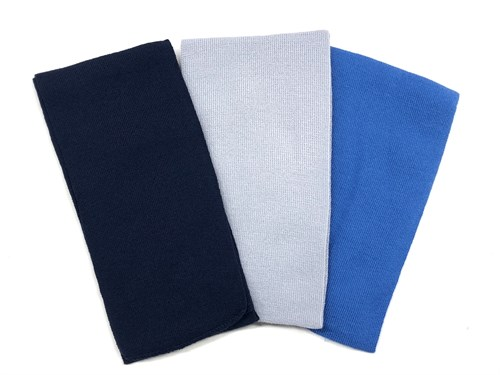AGBO шарф для мальчика, однотонный вязаный - фото 12473