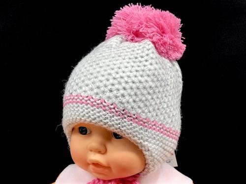 STING шапка двойная вязка (р.42-44) - фото 12581