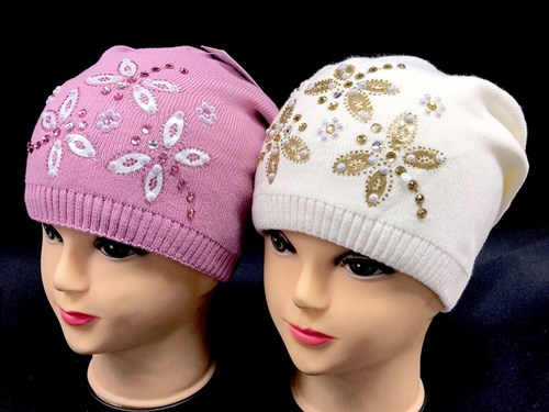 Vito шапка двойная вязка (р.54-56) - фото 12653