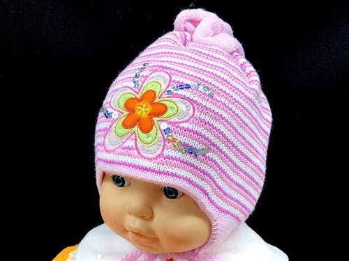 Jakob шапка двойная вязка (р.44-46) - фото 12670