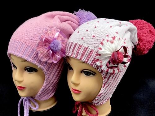 Malajka шапка подклад флис (р.48-50) - фото 12682