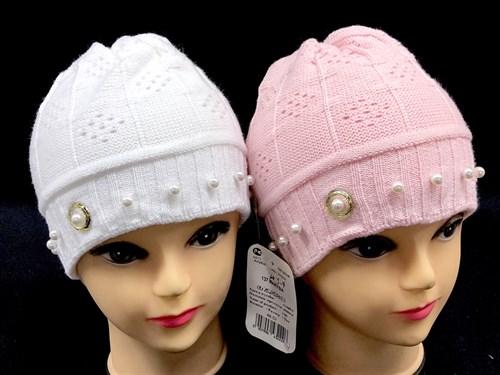 AGBO шапка 137 MARYSIA двойная вязка (р.48-52) - фото 12794