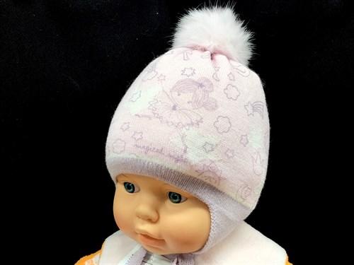 Barbaras модель WP 218/KE шапка  с утеплителем, подклад хлопок (р.42-44) кролик - фото 13012