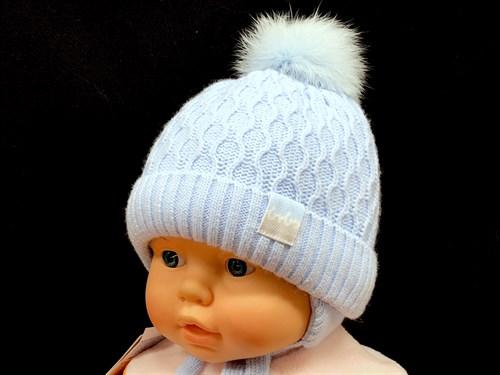 Barbaras модель AP 316/KE ISOSOFT шапка с натпомпоном (р.40-42) - фото 13014