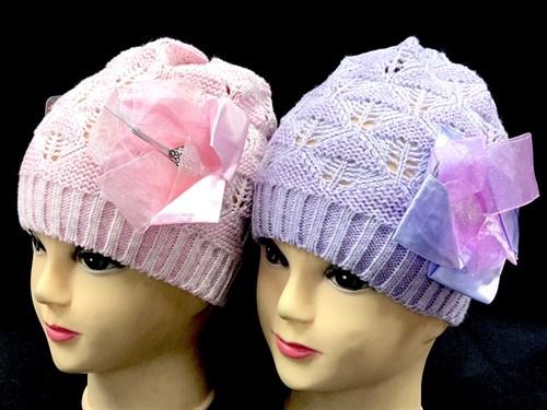 achti шапка AV13-35v1 ажурная  вязка (р.52-54) - фото 13064