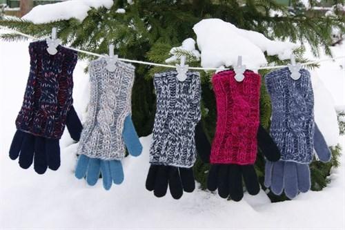 margot перчатки ERIS одинарная вязка (размер 17) - фото 13274