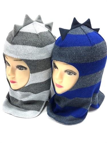 Milli шлем модель Дино, с утеплителем (р.1,2,4,6года) - фото 13918